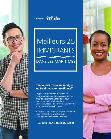 Top 25 immigrants ad FR-16